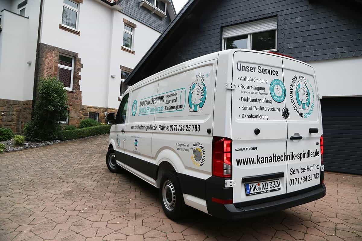 AAD Kanaltechnik Spindler GmbH & Co. KG Fahrzeug