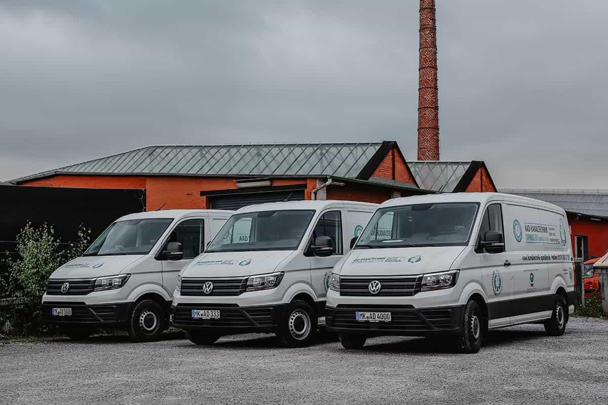 AAD Kanaltechnik Spindler GmbH & Co. KG Fahrzeugflotte